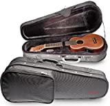 Stagg Hard Case for Concert Ukulele- Black