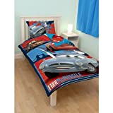 Childrens/Kids Boys Disney Cars Reversible Quilt/Duvet Bedding Set