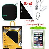 Bluetooth Speaker, AEDILYS Wireless Bluetooth 3.0 Waterproof Outdoor / Shower Speaker, with 5W Speaker/ Hands-Free Speakerphone 3D surround effect , Outdoor Bluetooth Speaker