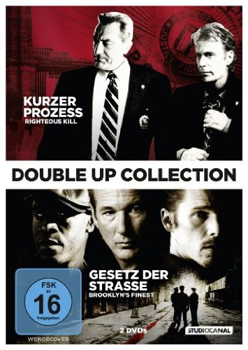 Double Up Collection: Kurzer Prozess - Righteous Kill / Gesetz der Straße - Brooklyn's ... [2 DVDs]