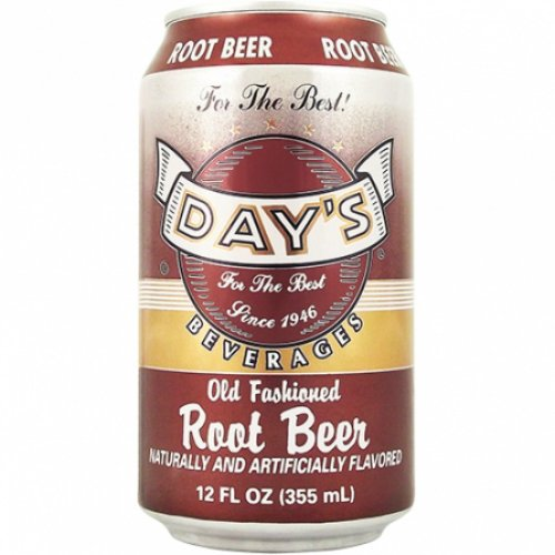 Day's Old Fashioned Root Beer Cans 12 fl oz/355 ml (Pack of 6)