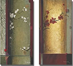 Blossom Tapestry I & II by Don Li-Leger 2-pc Premium Stretched Canvas Set (Ready to Hang)
