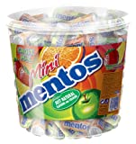 Mentos Mini Fruit Mix, Strawberry, Lemon, Orange and Apple, 120x10,5 g, 1260 g