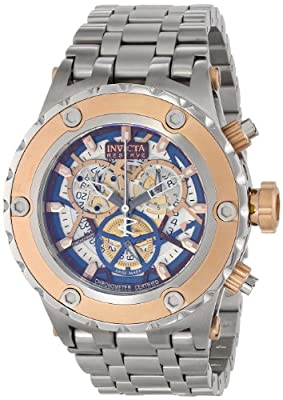 Invicta Men's 13741 Subaqua Analog Display Swiss Quartz Silver Watch