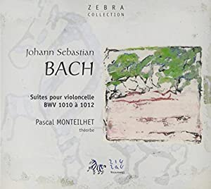 JS Bach - Cello Suites for theorbo