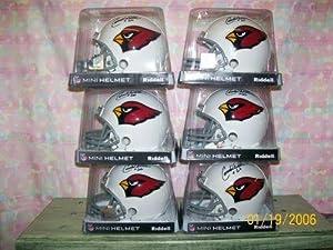 Dealer Lot 6 Conrad Dolber Signed St Louis Cardinals Mini Helmets #66 - Autographed...