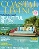 Coastal Living, The Color Issue Beautiful Blues!, March 2014