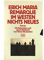 Remarque, Erich Maria - Im Westen nichts Neues