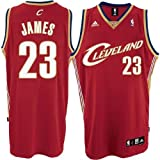 Adidas Cleveland Cavaliers Lebron James Swingman Road Jersey Large Amazon.com