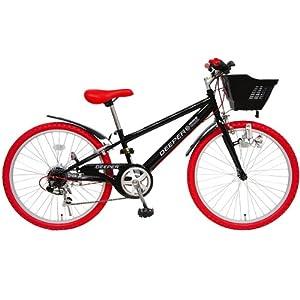 (ディーパー)DEEPER 24インチ 子供用自転車 DE-24 6段変速