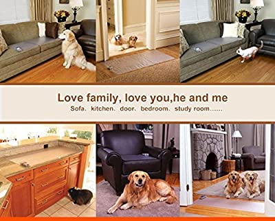 RIOGOO Pet Training Mat, Scat Mat Electronic Static Shock Mat, Keep Your Dogs Away Furniture