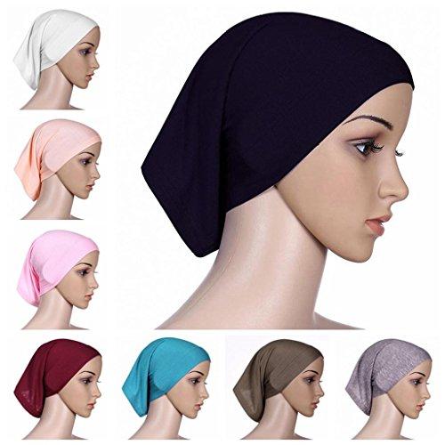 BaiTe-Unter-Kopftuch-Hijab-Kopftcher-Hijab-Kopftuch-Damen-Unter-Schal-4-pcs