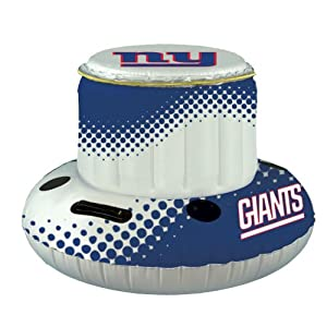 New York Giants Floating Cooler by Fans With Pride