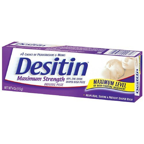 Desitin Diaper Rash Maximum Strength Original Paste 4 Oz