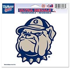 Buy Georgetown Hoyas Official NCAA 4.5x6 Car Window Cling Decal by Wincraft by WinCraft