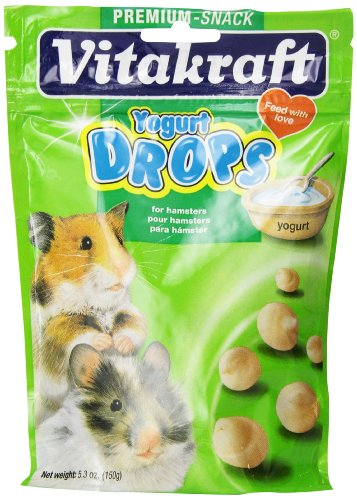 Vitakraft Hamster Drops with Yogurt Treat, 5.3 Ounce Pouch (Yogurt Hamster compare prices)