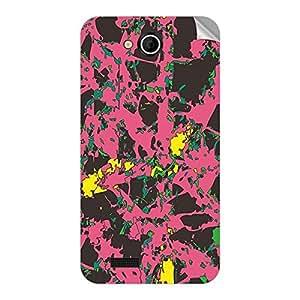 Garmor Designer Mobile Skin Sticker For Spice MI 504 - Mobile Sticker