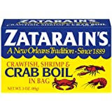 Zatarain's Dry Crab and Shrimp Boil, 3 oz