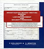 Basic Report Writing for Law Enforcement and Security