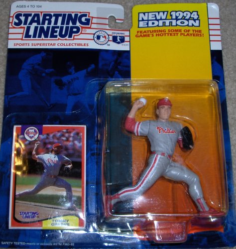 Starting Lineup 1994 Edition Sports Superstar Collectible Figure Philadelphia Phillies Tommy Greene