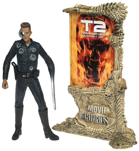 Picture of McFarlane Movie Maniacs 4: Terminator 2 T-1000 Action Figure (B00005NFSZ) (McFarlane Action Figures)