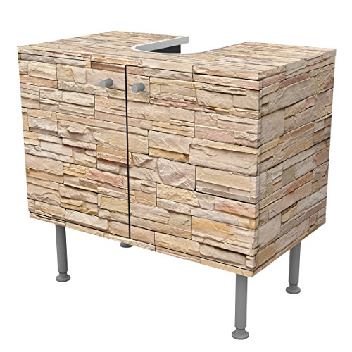 Mueble bajo armario design asian stonewall large brigth for Mueble 55 cm ancho