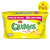 Walkers Cheese Quavers Snacks 6 x 16.5g