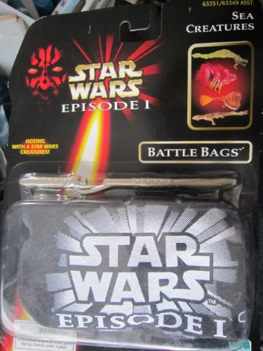 "Star Wars Episode 1, 1998 Edition ""Battle Bags"" Sea Creatures, with 4 Stars Creatures & Cutting Tool - 1"