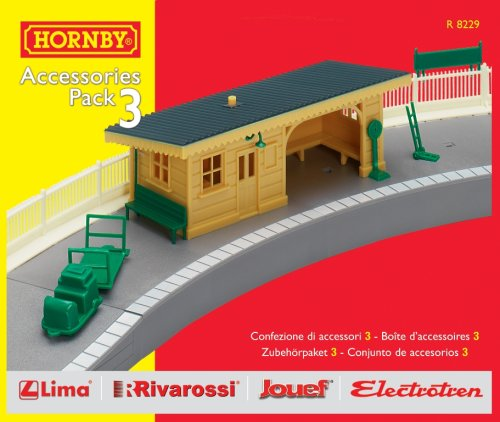 Hornby R8229 00 Gauge Building Ext Pack C Trakmat Packs and Accessory