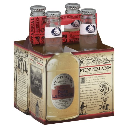 Fentimans Rose Lemonade, 4Pack 37.2 FL