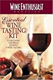 5187B4WZSKL. SL160 The Wine Enthusiast Essential Wine Tasting Kit