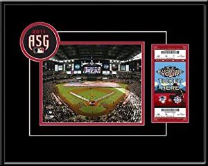 MLB 2011 All Star Game 8x10 Photo & Ticket Frame - 2011 All Star Game