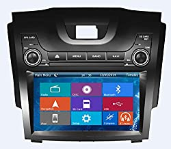 See Crusade Car DVD Player for Chevrolet S10 Support 3g,1080p,iphone 6s/5s,external Mic,usb/sd/gps/fm/am Radio 8 Inch Hd Touch Screen Stereo Navigation System+ Reverse Car Rear Camara + Free Map Details