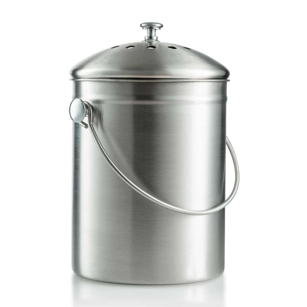 compost bin, kitchen compost bin compost pail 1 Gallon