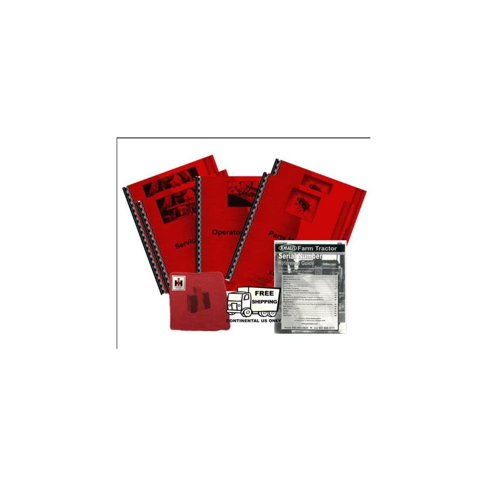 Farmall 756 Diesel Deluxe Tractor Manual Kit