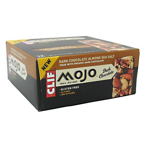 Clif Bar Mojo Bar - Box Of 12 (Dark Choc Almond & Sea Salt)