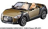 ダイハツ (DAIHATSU) コペン (Copen) XPLAY-S ミニカー 1/18 オフビートカーキメタリック G55 ベージュシート 標準ホイール 組立 キット ブックレット付