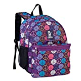 Wildkin Peace Signs Bogo Backpack with Lunch Bag, One Size