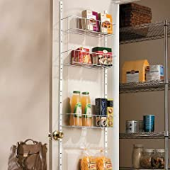 "18"" Pantry Door Rack"