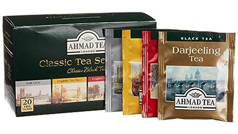 【定番モノ】日ごろ気軽に飲む紅茶「AHMAD TEA クラシックセレクション」