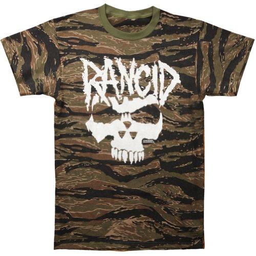 Rancid Men'S Crimson Ghost Tiger Stripe Camo T-Shirt Xx-Large Multi