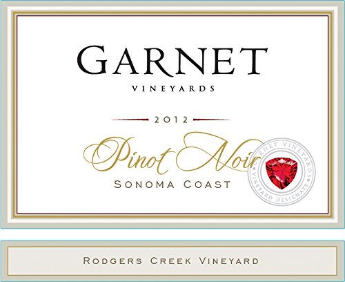 2012 Garnet Rodgers Creek Pinot Noir 750 Ml