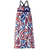 kc parker Big Girls' Paisley Knit Jersey Maxi Dress