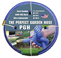"Big Sale Tuff-Guard The Perfect Garden Hose, Kink Proof Garden Hose Assembly, Blue, 5/8"" Male x Female GHT Connection, 5/8"" ID, 50 Foot Length"