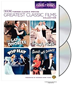Tcm Greatest Classic Film Collection Astaire Rogers The Gay Divorcee Top Hat Swing Time Shall We Dance from Turner Home Ent