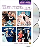 TCM Greatest Classic Film Collection: Astaire & Rogers (The Gay Divorcee / Top Hat / Swing Time / Shall We Dance)
