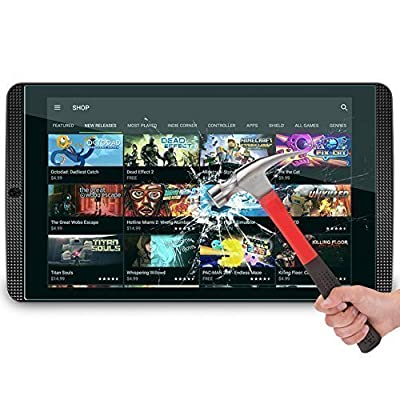 NVIDIA Shield Tablet / Tablet K1 Glass Screen Protector, OMOTON Tempered Glass Protector with [Non-Scratch] [Easily-Install] For NVIDIA Shield Tablet K1 / Shield Tablet, 8 Inch [Lifetime Warranty]