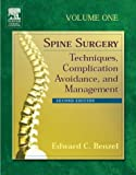 img - for Spine Surgery: Techniques, Complication Avoidance, and Management, 2-Volume Set, 2e book / textbook / text book