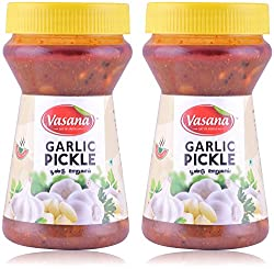 Vasana Garlic Pickle - Pack of 2 - 300 gms