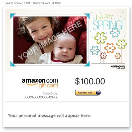 Amazon Gift Card - Upload Your Photo - Spring front-1049909